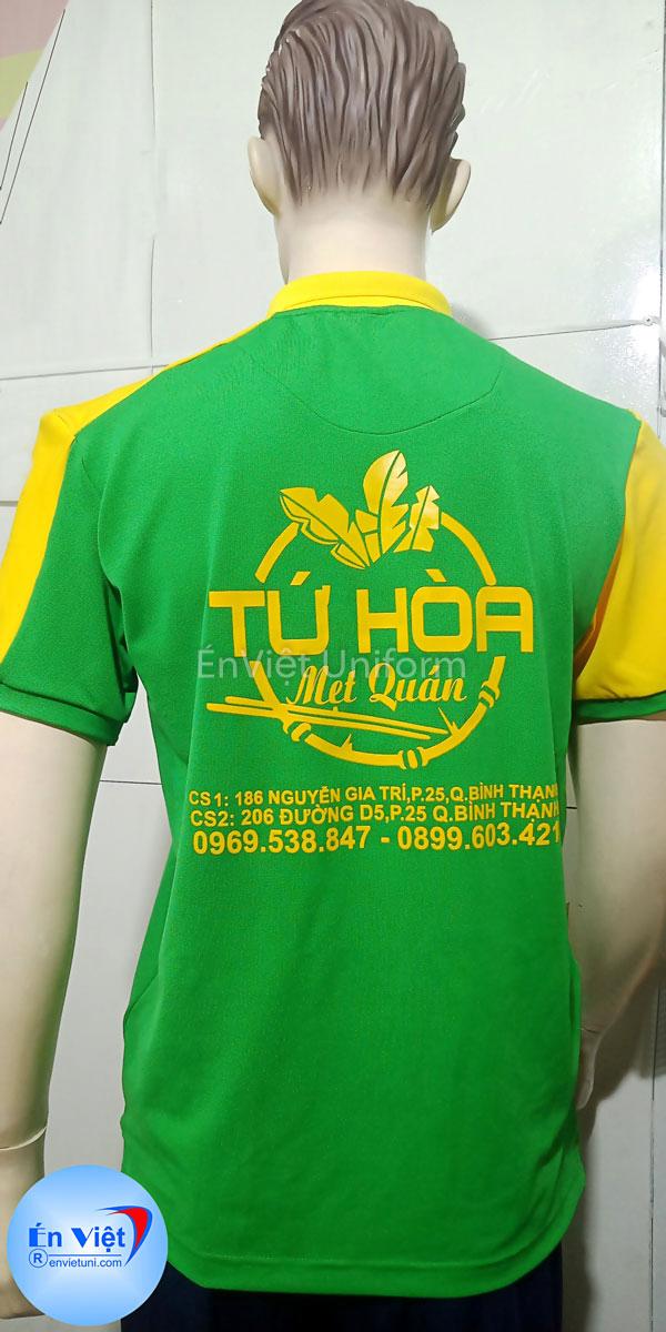 mẫu đồng phục quán ăn uqa001