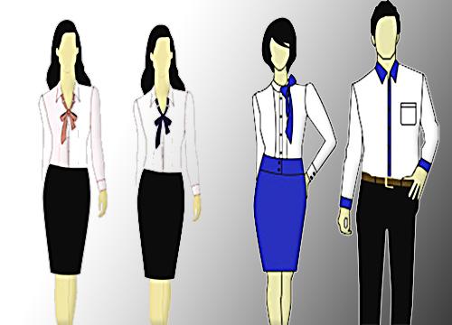 chọn may đồng phục công sở nữ