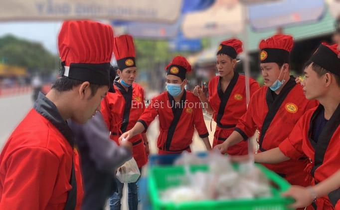 đồng phục áo bếp dori