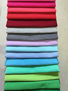 vải may đồng phục cotton 65-35 chất lượng