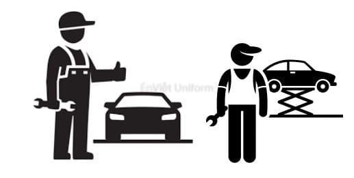 đồng phục thợ sửa xe máy